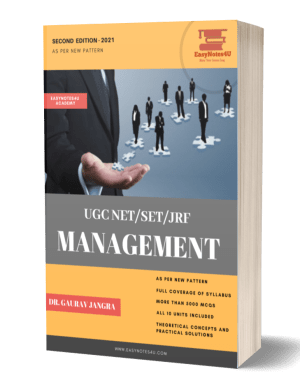 UGC NET/ SET/ JRF Management Book by Dr. Gaurav (Second Edition – 2021)