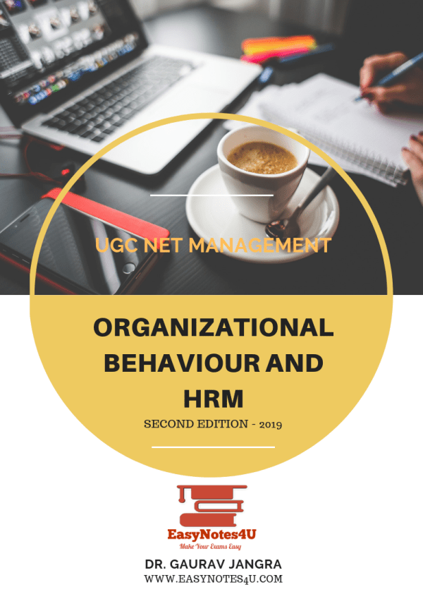 organisational behaviour and HRM (UGC NET Management) Notes and ebook