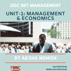 Business Management and Economics - UGC NET eBook