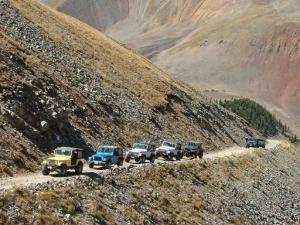 CSC4W trail ride up the Mt. Antero trail.