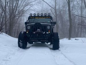 Several day each winter Evolution Jeep Alliance enjoys Snow days at AOAA.