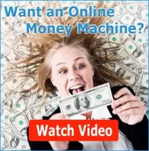 want an online money machine banner