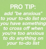 Funny To Do List Tip