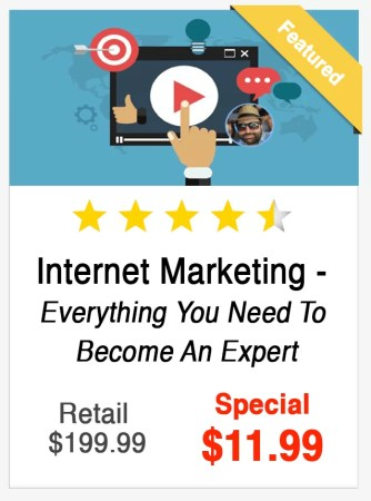 Internet Marketing Course Everything to be an Expert