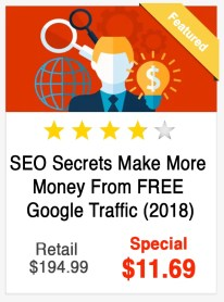 SEO Secrets Make More Money from Free Google Traffic Course