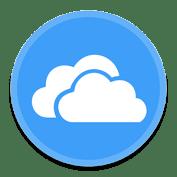 OneDrive file storage icon
