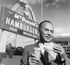 McDonalds Founder Ray Kroc