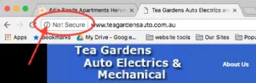 not-secure-website