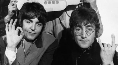 John Lennon and Sir Paul McCartney