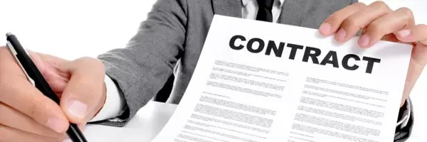 Financial Advisor and Business Contract