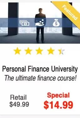 Personal Finance Uni Course