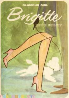Glamour Girl Brigitte seamfree stockings