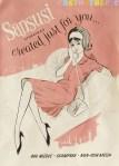 Sansusi stockings Sixties
