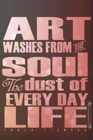 Art Quote P Picasso 10 Happiness Quotes that will change your mood today!