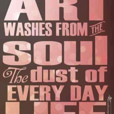 Art Quote – P Picasso