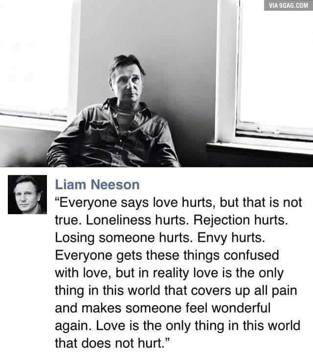 Laim Neeson post Valentine's Day – Ideas to make yourself