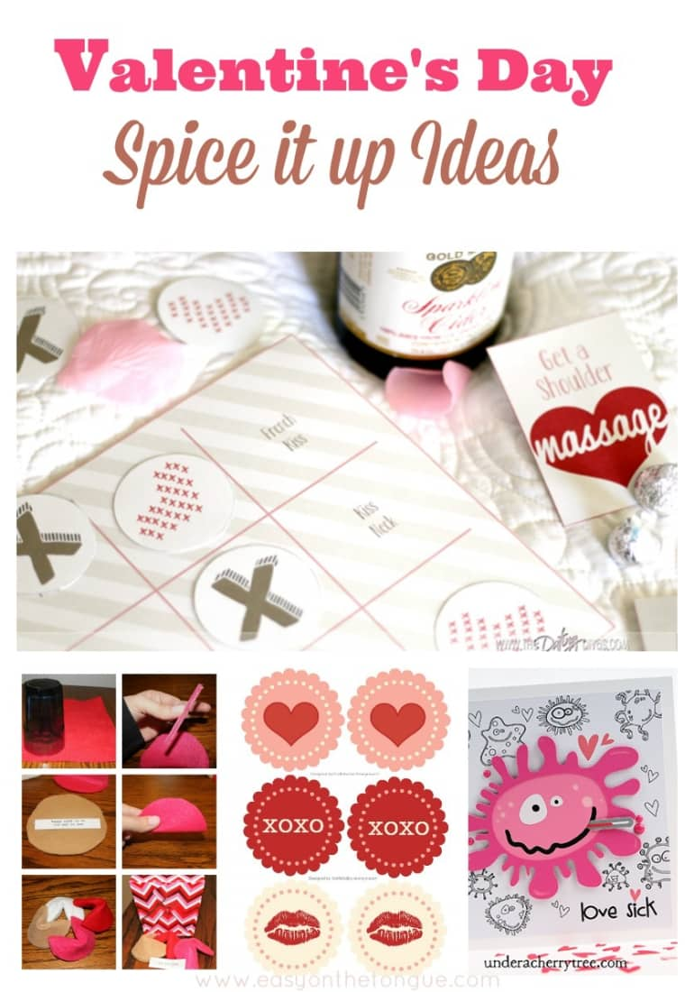 Valentines Day Spice it up Ideas Valentine's Day – Ideas to make yourself
