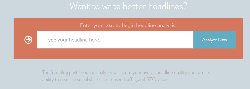 CoSchedule Headline analyzer New finds to make your blogging world awesome