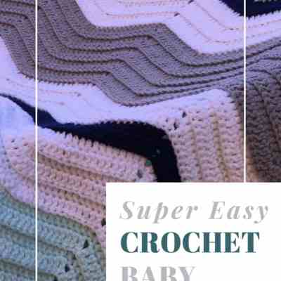Super easy Crochet Baby Blanket for New Arrival