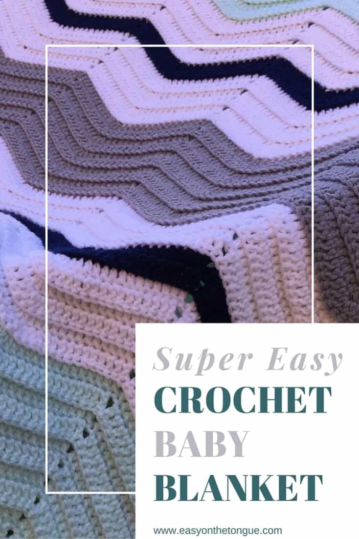 Super Easy Crochet Baby Blanket Pinterest Super easy Crochet Baby Blanket for New Arrival