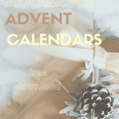 The most adorable Advent calendars found for you