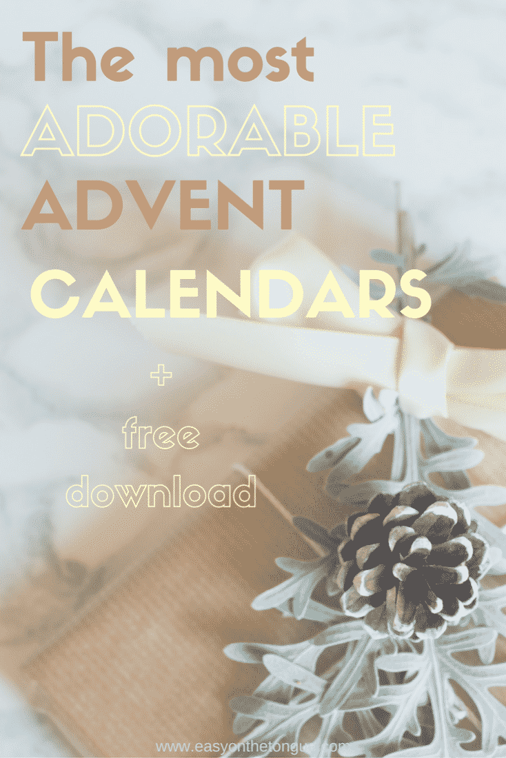 The most adorable advent calendars Pinterest The most adorable Advent calendars found for you