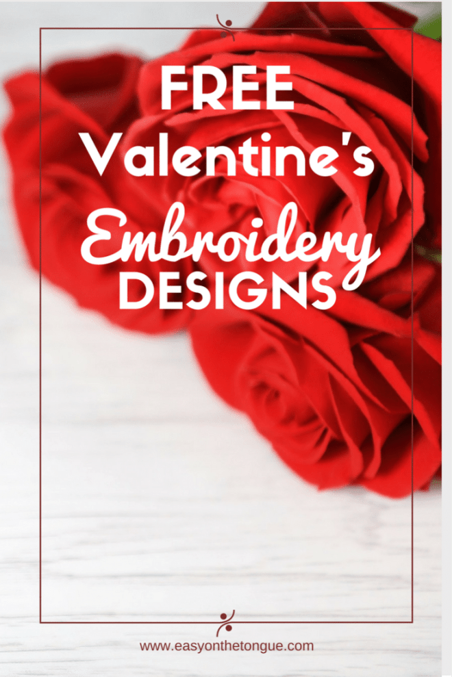 10 Free Valentine Machine Embroidery Designs The 10 Most Adorable Free Valentine's Day Embroidery Designs