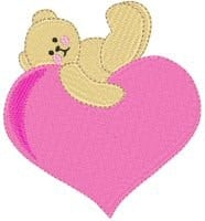 tobearwithlove1 The 10 Most Adorable Free Valentine's Day Embroidery Designs