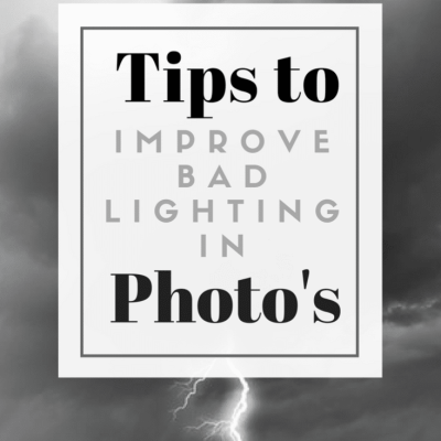 How to Get Rid of Bad Lighting in Your Photography