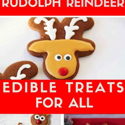 The most special Rudolph Christmas Treats found for you, to easily make