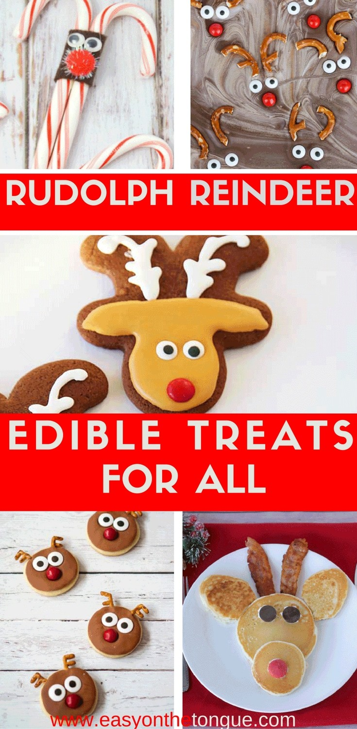 The most special Rudolph Christmas Treats found for you to easily make Click to see all the homemade gift ideas to make for  The most special Rudolph Christmas Treats found for you, to easily make