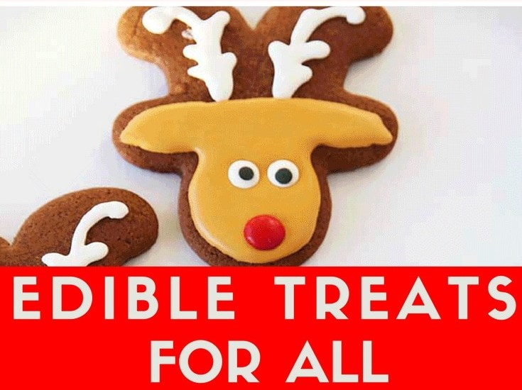 The most special Rudolph Christmas Treats found for you, to easily make - Click to see all the homemade gift ideas to make for - get the full list at www.easyonthetongue.com