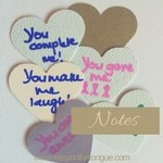 Notes for DIY Inspiration for a quick easy and cheap gift for someone very special 101 I LOVE YOU Notes to put in a jar www.easyonthetongue.com 2 101 I LOVE YOU Notes in a Jar