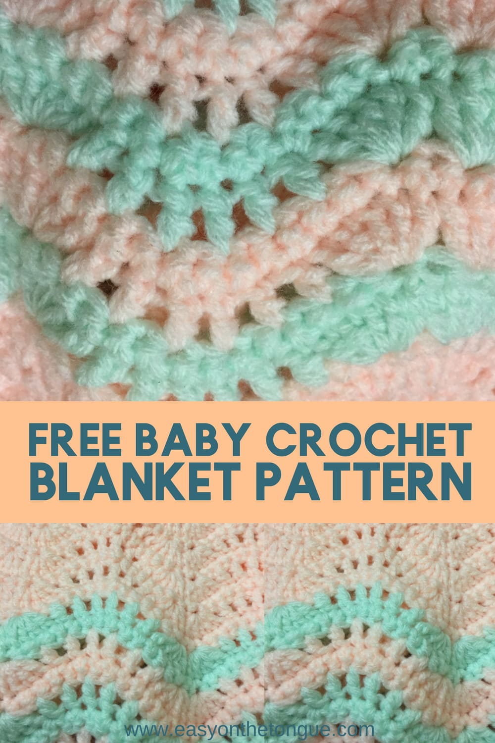 Quick And Easy Free Baby Blanket Crochet Pattern For New