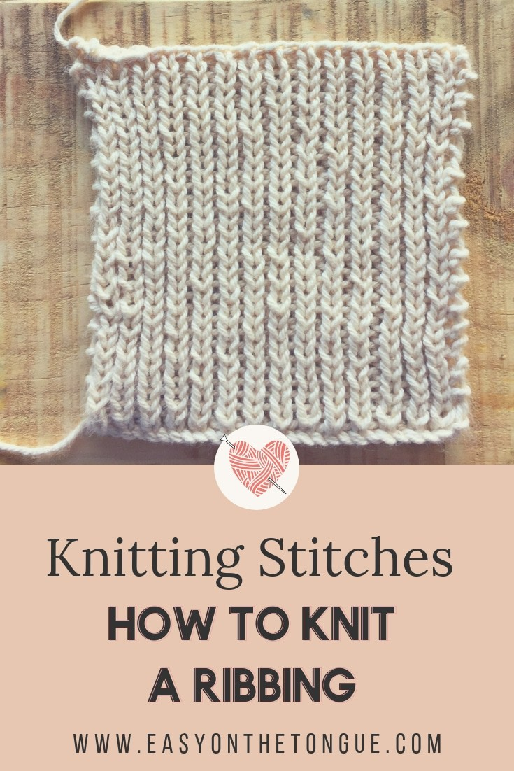 Knitting Stitches How To Knit A Ribbing