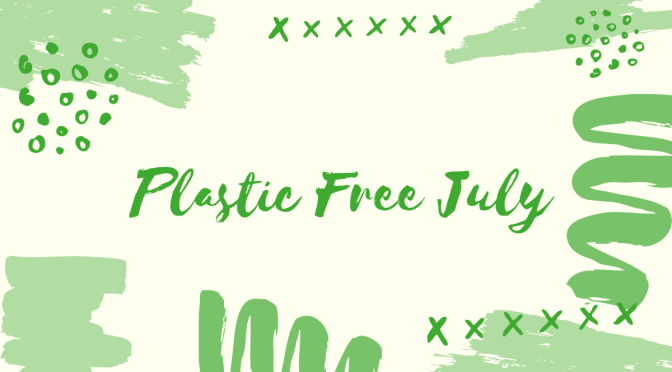 What I did for Plastic Free July 2020
