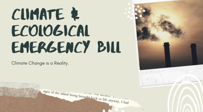 The Climate and Ecological Emergency Bill