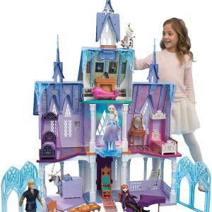 Disney Frozen 2 Ultimate Arendelle Castle Playset with Lights and Moving Balcony