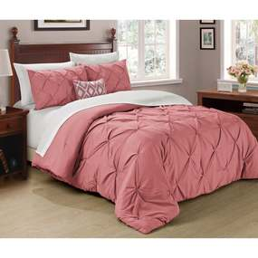 Copper Grove Tithonia 3-piece Pintuck Comforter Set