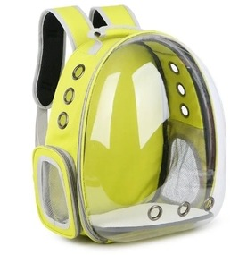 5 Colors Breathable Transparent Pet Travel Backpack