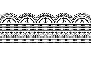 Border Rangoli Design
