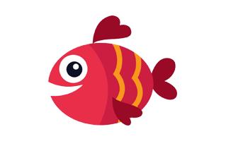 Fish Rangoli Design