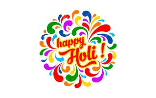 Holi Rangoli Design