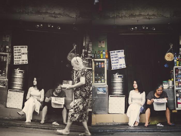 ハノイ観光と爪楊枝売りのおばさん
