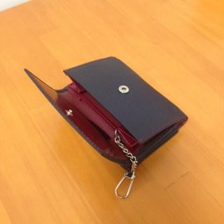 出張用の財布を探したら便利な三つ折り財布を見つけた