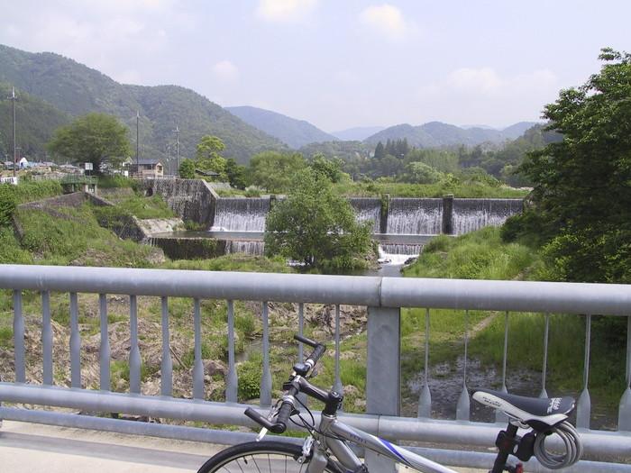 庄田橋の上