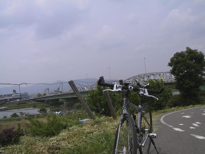 久世橋の辺り