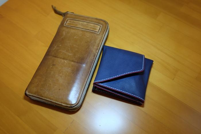 長財布と大きさ比較