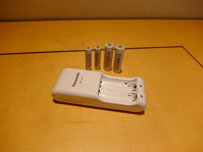 充電式電池専用急速充電器 BQ-CC23