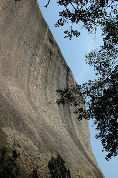 日光岩の巨岩
